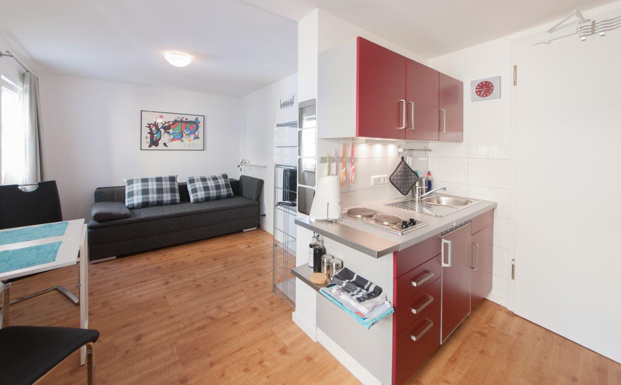 Mini wohnung for Wohnung minimalistisch einrichten